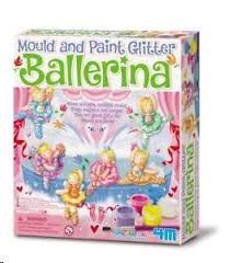 MOULD AND PAINT BALLERINA