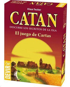 JUEGO DE MESA CATAN CARTAS MINI