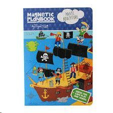 MAGNETIC PLAYBOOK PIRATE ADVENTURES