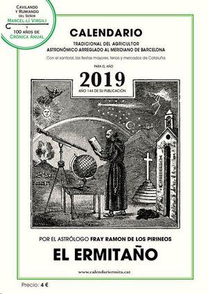 CALENDARIO ERMITAÑO 2019