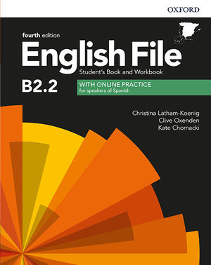 ENGLISH FILE B2.2 SBWB W/KEY 4ED (UPPER INT)
