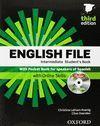 ENGLISH FILE INTERMEDIATE: STUDENT'S BOOK, ITUTOR AND POCKET BOOK PACK 3RD EDITI