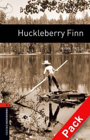 OXFORD BOOKWORMS 2. HUCKLEBERRY FINN AUDIO CD PACK