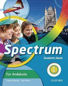 SPECTRUM 1. STUDENT'S BOOK ANDALUCÍA