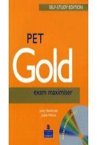 PET GOLD EXAM MAXIMISER KEY + CD N/ED