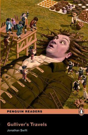 PENGUIN READERS 2: GULLIVER'S TRAVEL BOOK & MP3 PACK