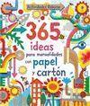 365 IDEAS PARA MANUALIDADES PAPEL CARTON