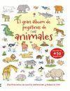 EL GRAN LIBRO DE PEGATINAS ANIMALES