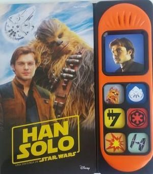 STAR WARS HAN SOLO 7 BOTONES SONIDO