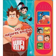 LIBRO MUSICAL 7 BOTONES WRECK IT RALPH 2 LSD