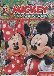 BUSCA Y ENCUENTRA MICKEY AND FRIENDS 90TH