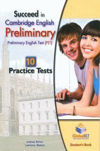 SUCCEED IN PET - 10 PRACTICE TESTS SB