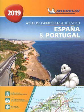 ATLAS 4460 ESPAÑA-PORTUGAL CARRETERAS