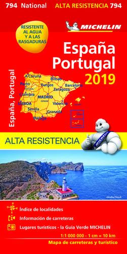 MAPA 794 ESPAÑA/PORTUGAL