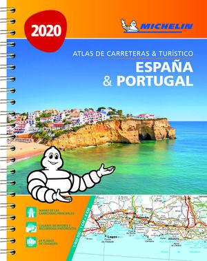 ESPAÑA & PORTUGAL (FORMATO A-4) (ATLAS DE CARRETERAS Y TURÍSTICO