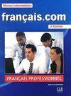 FRANÇAIS.COM INTERMÉDIARE 2ÈME ÉD. - LIVRE - CD ROM