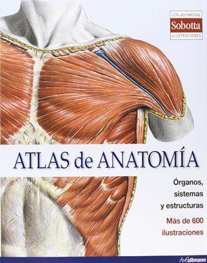 ATLAS DE ANATOMÍA . ORGANOS SISTEMAS Y ESTRUCTURAS