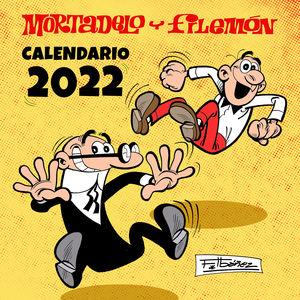 CALENDARIO MORTADELO Y FILEMON 2022