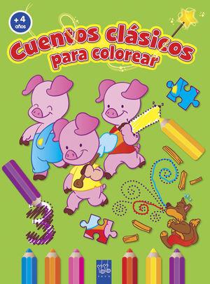 C.CLÁSICOS COLOREAR +4