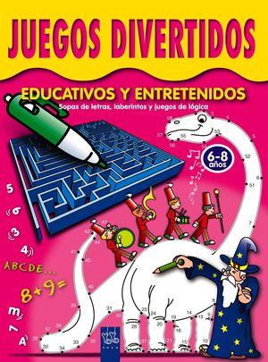 JUEGOS DIVERTIDOS EDUCATIVOS Y ENTRETENIDOS 6-8 AÑOS
