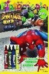 SPIDERMAN. PINTAMANIA SUPER CERAS