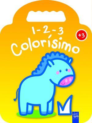 1-2-3 COLORISIMO +3 PONI