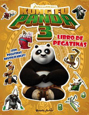 KUNG FU PANDA 3. LIBRO DE PEGATINAS