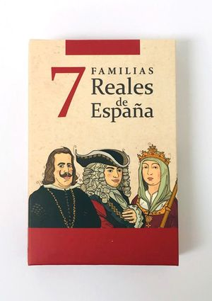 BARAJA 7 FAMILIAS REALES DE ESPAÑA