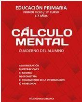 CALCULO MENTAL CUADERNO ALUMNO 1º EP