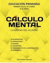 CALCULO MENTAL CUADERNO ALUMNO 4º EP