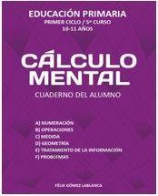 CALCULO MENTAL CUADERNO ALUMNO 5º EP