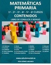 MATEMÁTICAS 1º A 6º DE PRIMARIA - CONTENIDOS