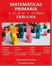 MATEMÁTICAS 1º A 6º DE PRIMARIA - EJERCICIOS