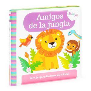LIBRO BAÑO AMIGOS DE JUNGLA LEE Y JUEGA