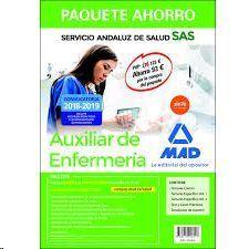PAQUETE AHORRO AUXILIAR ENFERMERÍA DEL SERVICIO ANDALUZ DE SALUD. AHORRO DE 93 €