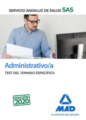 ADMINISTRATIVO/A DEL SERVICIO ANDALUZ DE SALUD