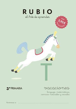 RUBIO VACACIONES - 3º PRIMARIA