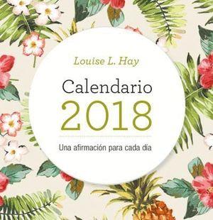 CALENDARIO LOUISE HAY 2018