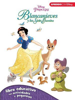 BLANCANIEVES Y LOS SIETE ENANITOS (LIBRO EDUCATIVO DISNEY CON ACTIVIDADES Y PEGA