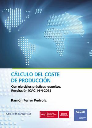 CÁLCULO DEL COSTE DE PRODUCCION