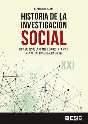 HISTORIA DE LA INVESTIGACIÓN SOCIAL