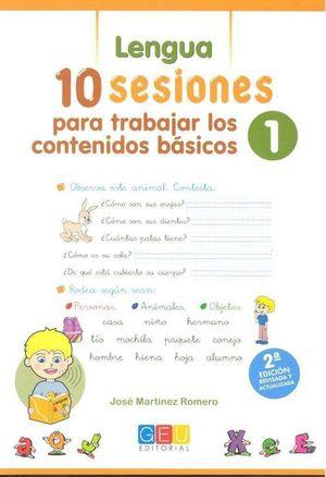 10 SESIONES PARA TRABAJAR LOS CONTENIDOS BASICOS 1