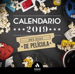CALENDARIO 2019. 365 DÍAS DE PELÍCULA