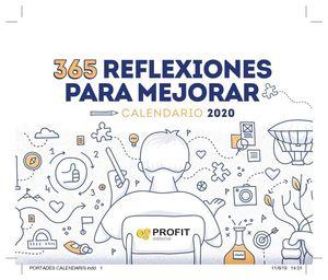 CALENDARIO 2020. 365 REFLEXIONES PARA MEJORAR