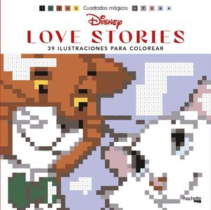 CUADRADOS MÁGICOS-DISNEY LOVE STORIES