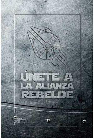 BLOC DE NOTAS STAR WARS HALCON MILENARIO