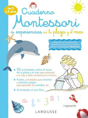 CUADERNO MONTESSORI DE EXPERIENCIAS EN LA PLAYA Y EL MAR