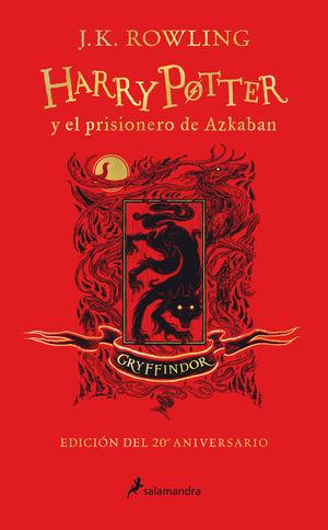 HARRY POTTER Y EL PRISIONERO DE AZKABAN (EDICIÓN GRYFFINDOR DEL 2