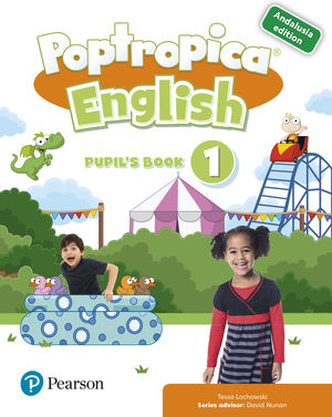POPTROPICA ENGLISH 1 PUPIL´S BOOK PACK ANDALUCIA