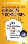 HERENCIAS Y DONACIONES
